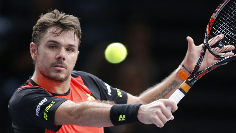Wawrinka in St. Petersburg in der 2. Runde