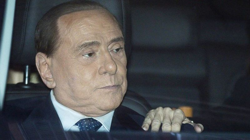 Berlusconi im Spital - Leistenbruch-Operation