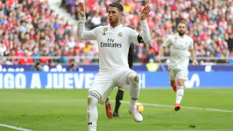 Real Raubein Sergio Ramos droht weitere Sperre