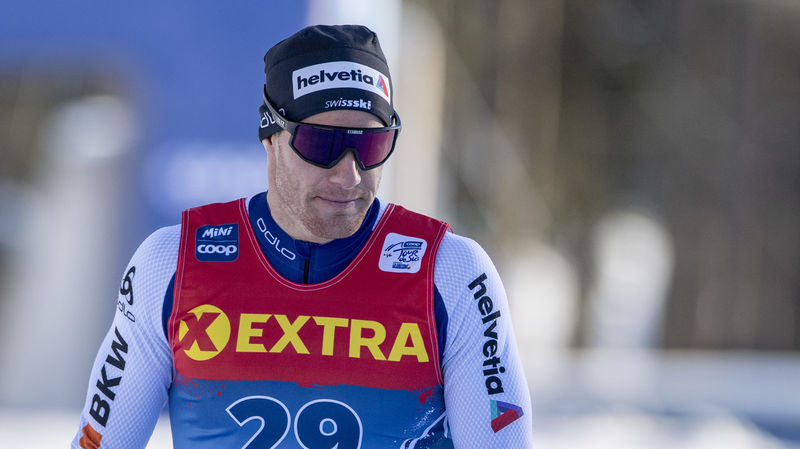 Dario Cologna läuft in die Top Ten