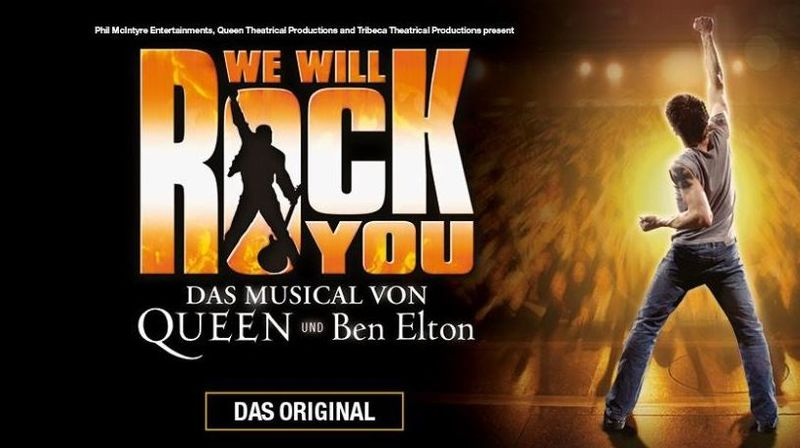 «We Will Rock You» - das Musical
