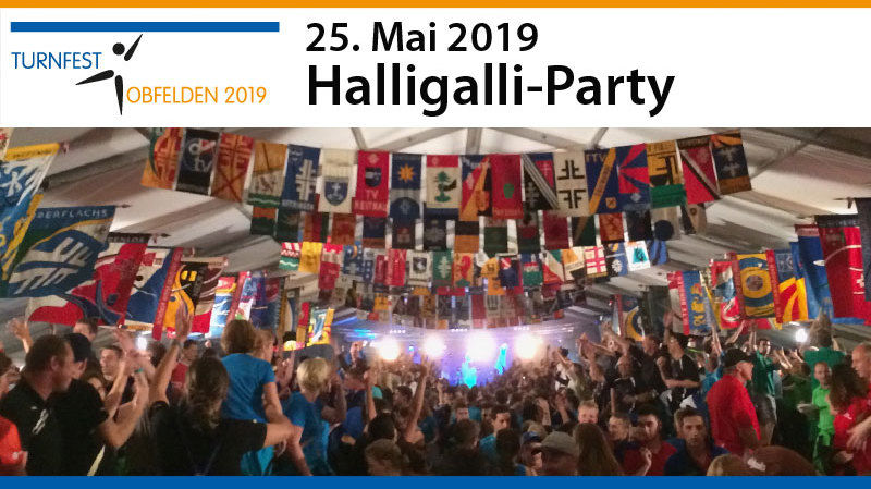 Grosse Halligalli-Party am Regionalturnfest Obfelden