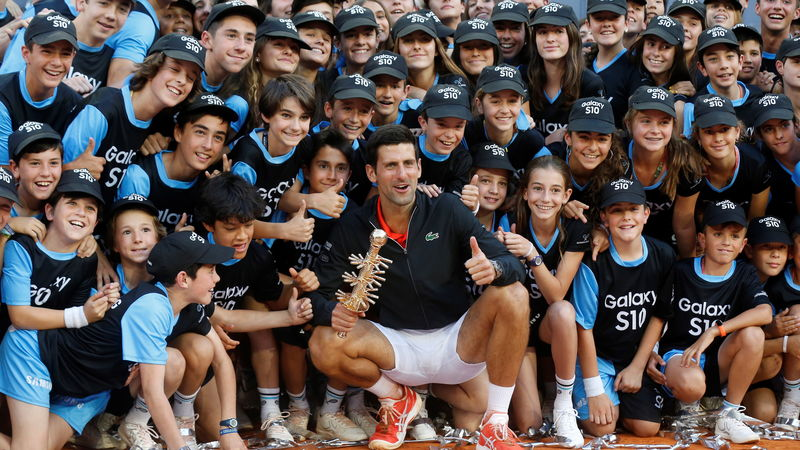 Novak Djokovic gewinnt in Madrid