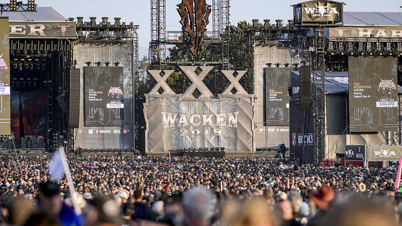 Heavy-Metal-Festival als Livestream statt in Wacken
