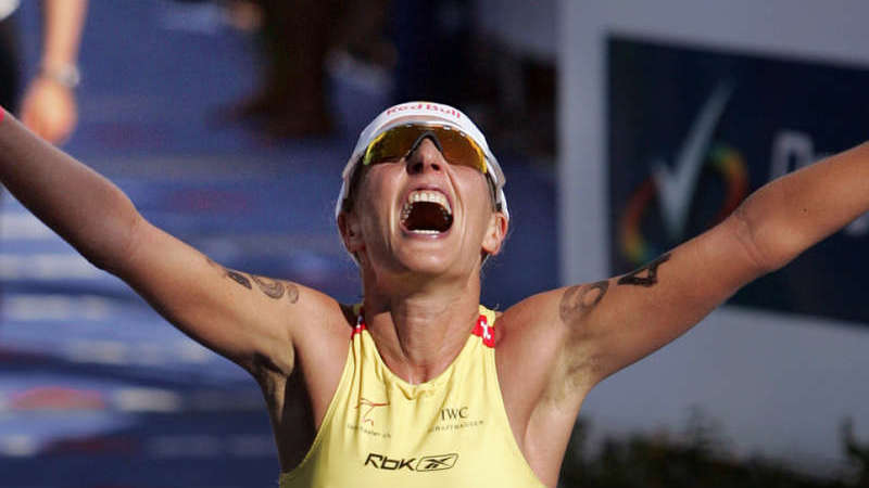 Natascha Badmann in der Ironman Hall of Fame