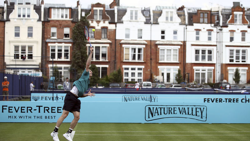 Andy Murray mit Comeback im Queen's Club